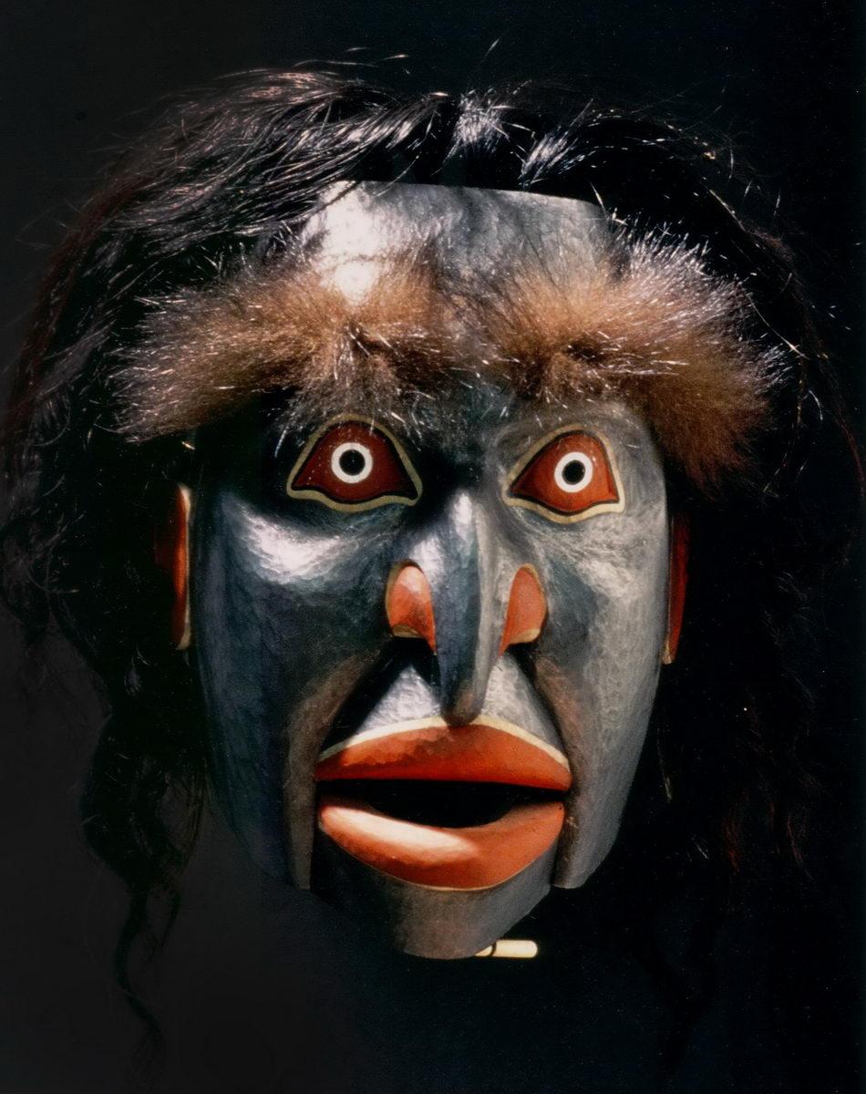 Forest Fire Spirit Mask