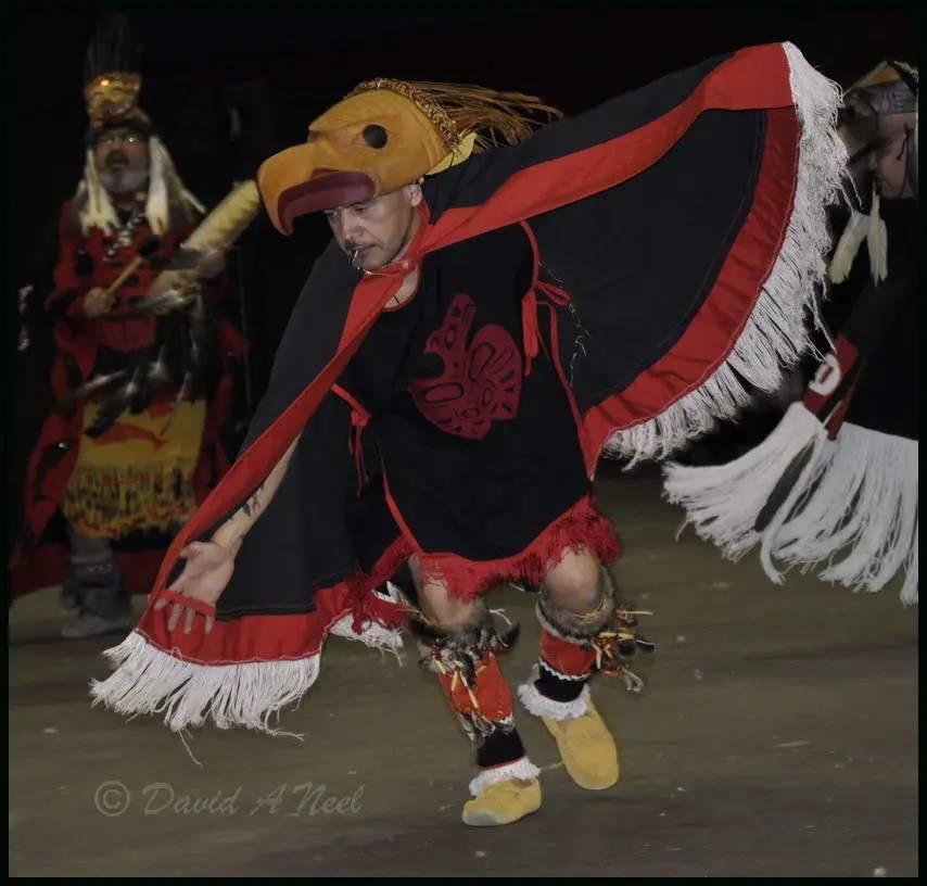 A Niss'ga Eagle Dancer