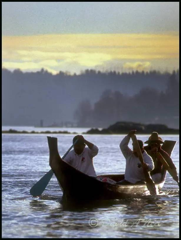 The Walas-Kwis-Gila (Travels Great Distances), a canoe carved by David Neel.