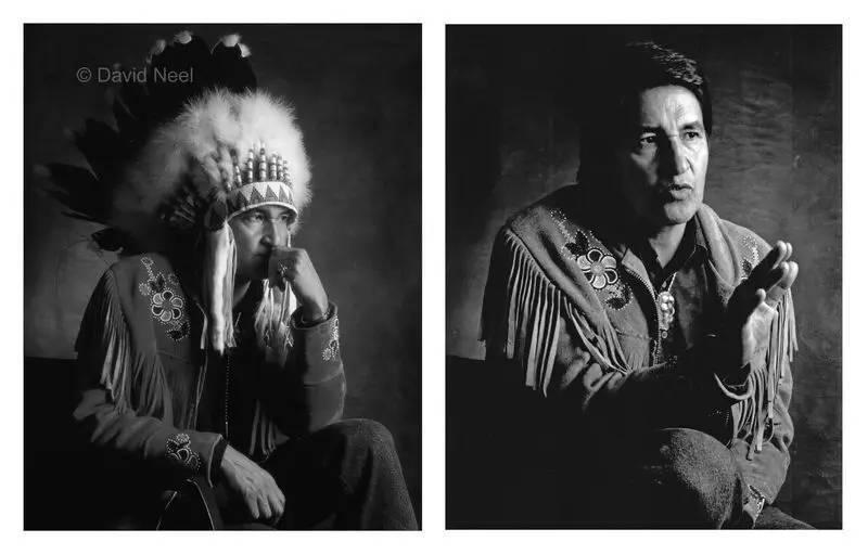Chief Olvide Mercredi, Cree