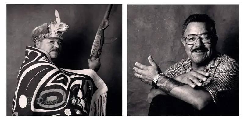 Chief Alan Wilson, Haida