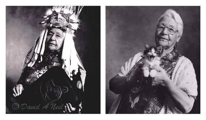 Chief Catherin Adams, Kwakwak'awakw.