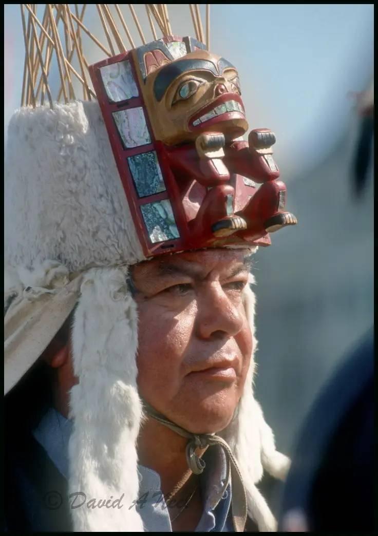 Chief Tony Hunt, Kwakiutl