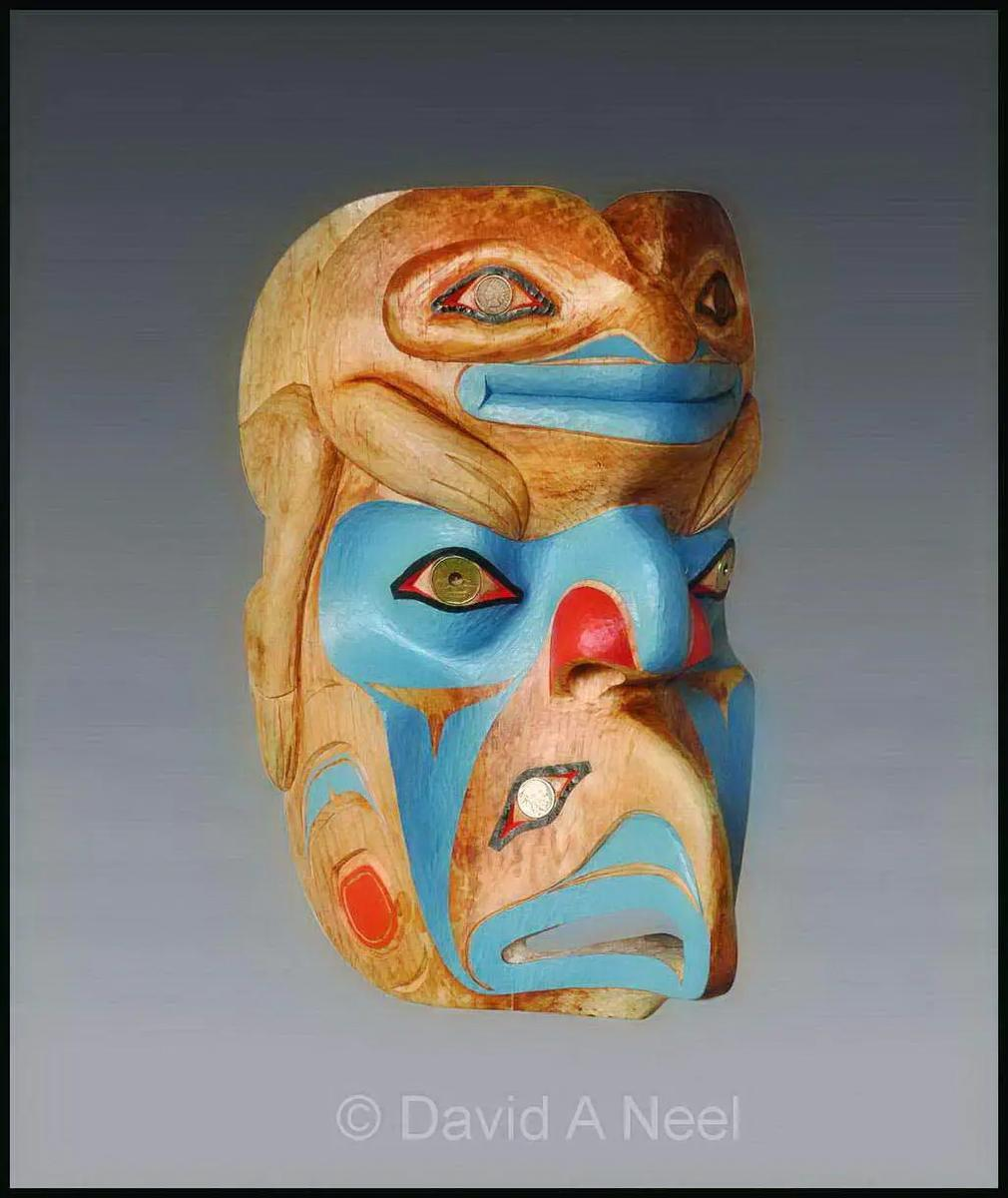 Tsegame, the Great Magician Mask