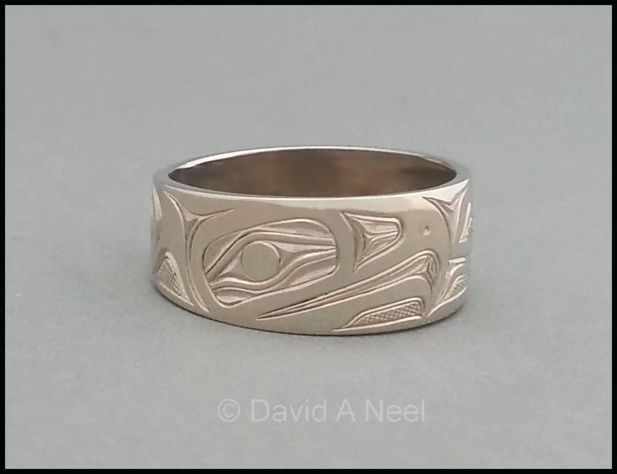 Eagle Ring, White Gold