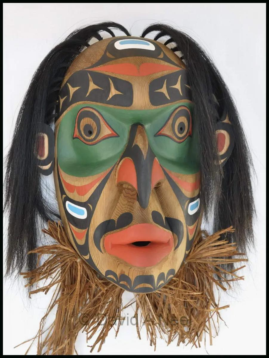 Wild Man of the Woods Mask
