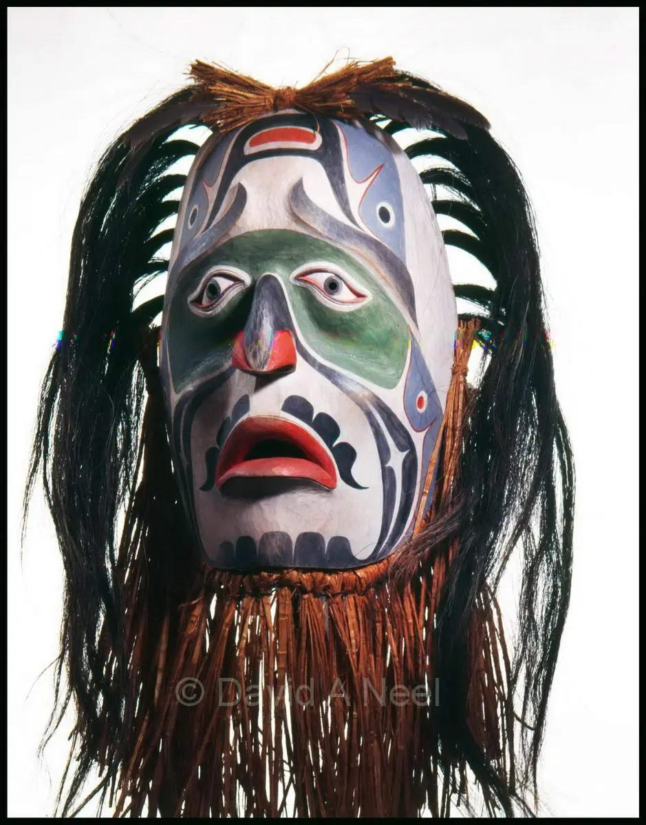 Dave Neel Sr. Mourning Mask