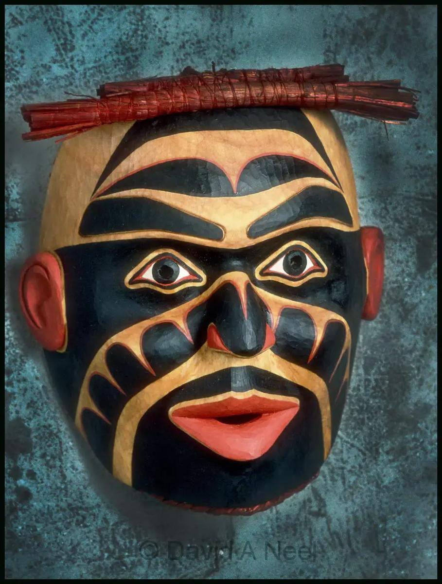 Mungo Martin Portrait Mask #1