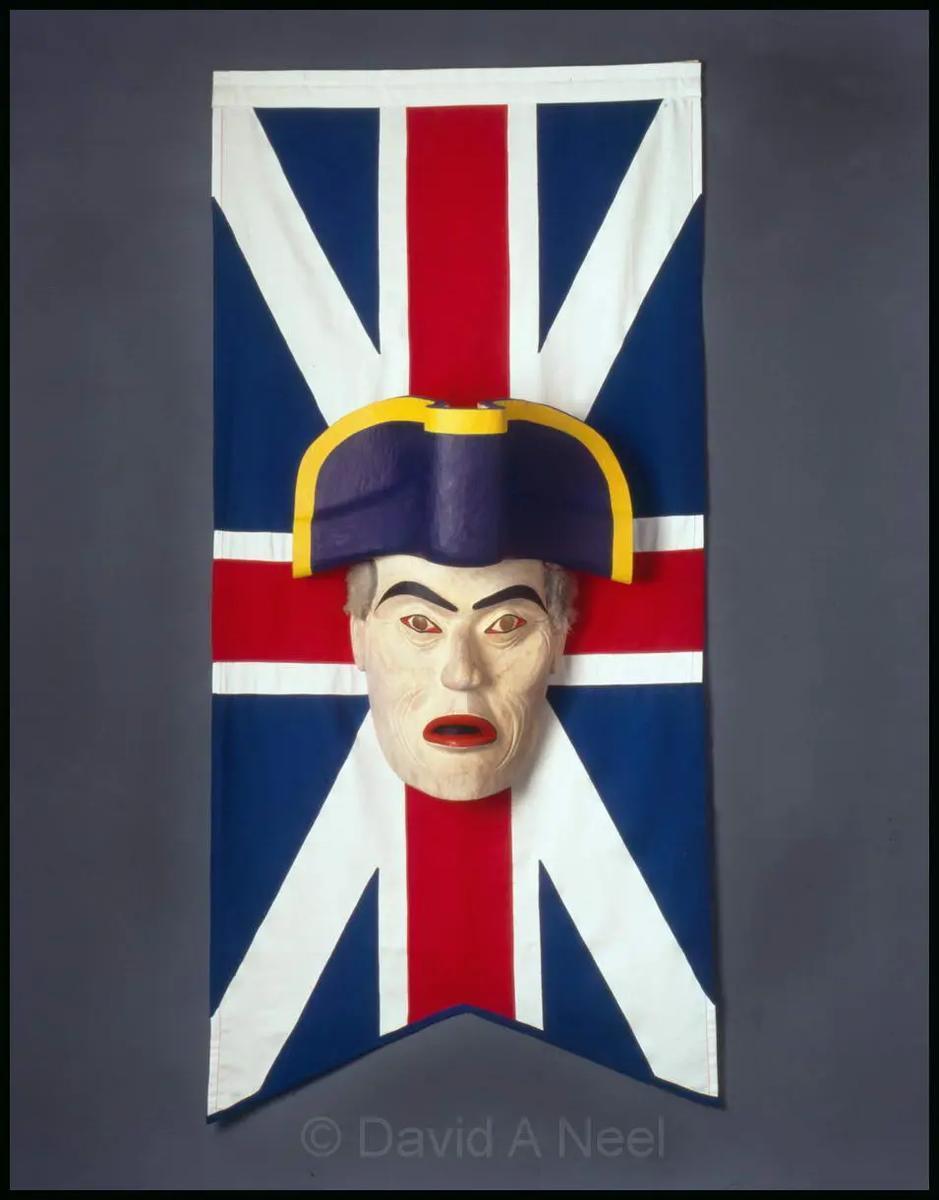 Captain Vancouver Portrait Mask
