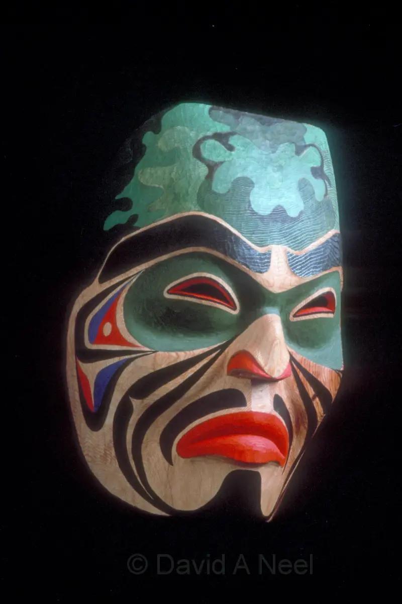 Mohawk Warrior Mask