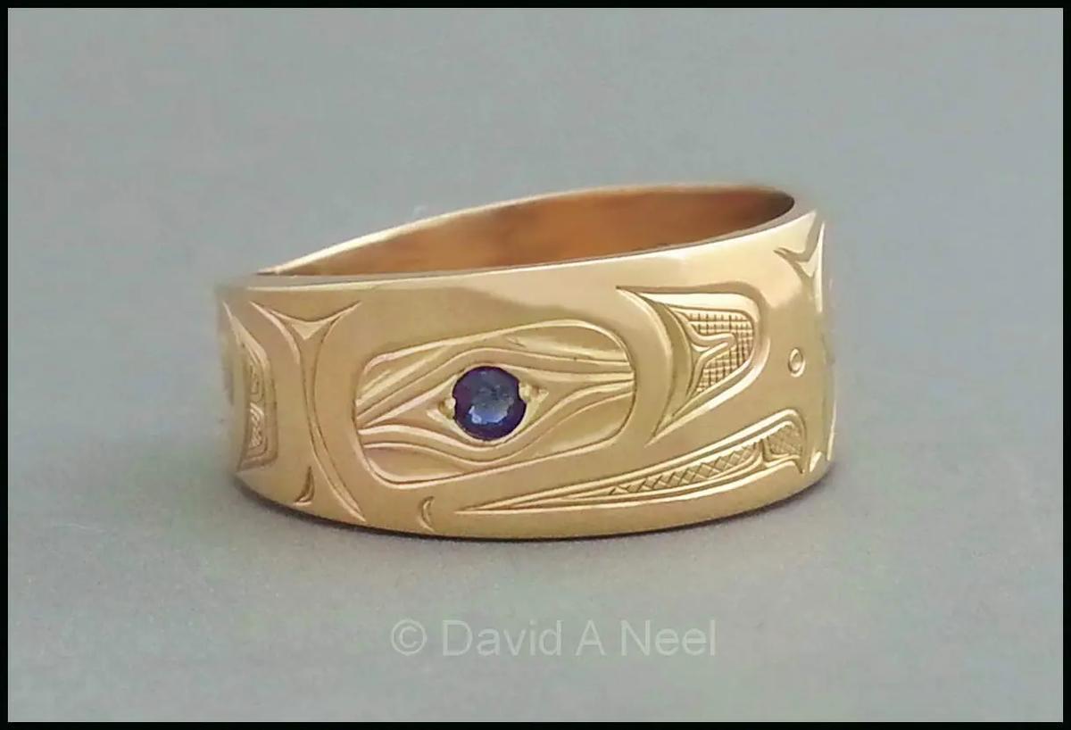 Eagle, Gold & Sapphire