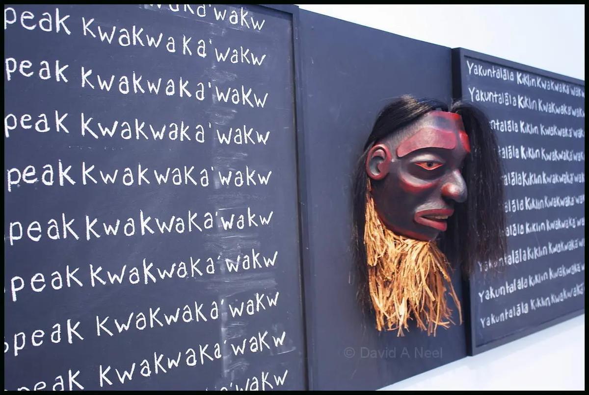 Mourning Mask for the Residential School Children