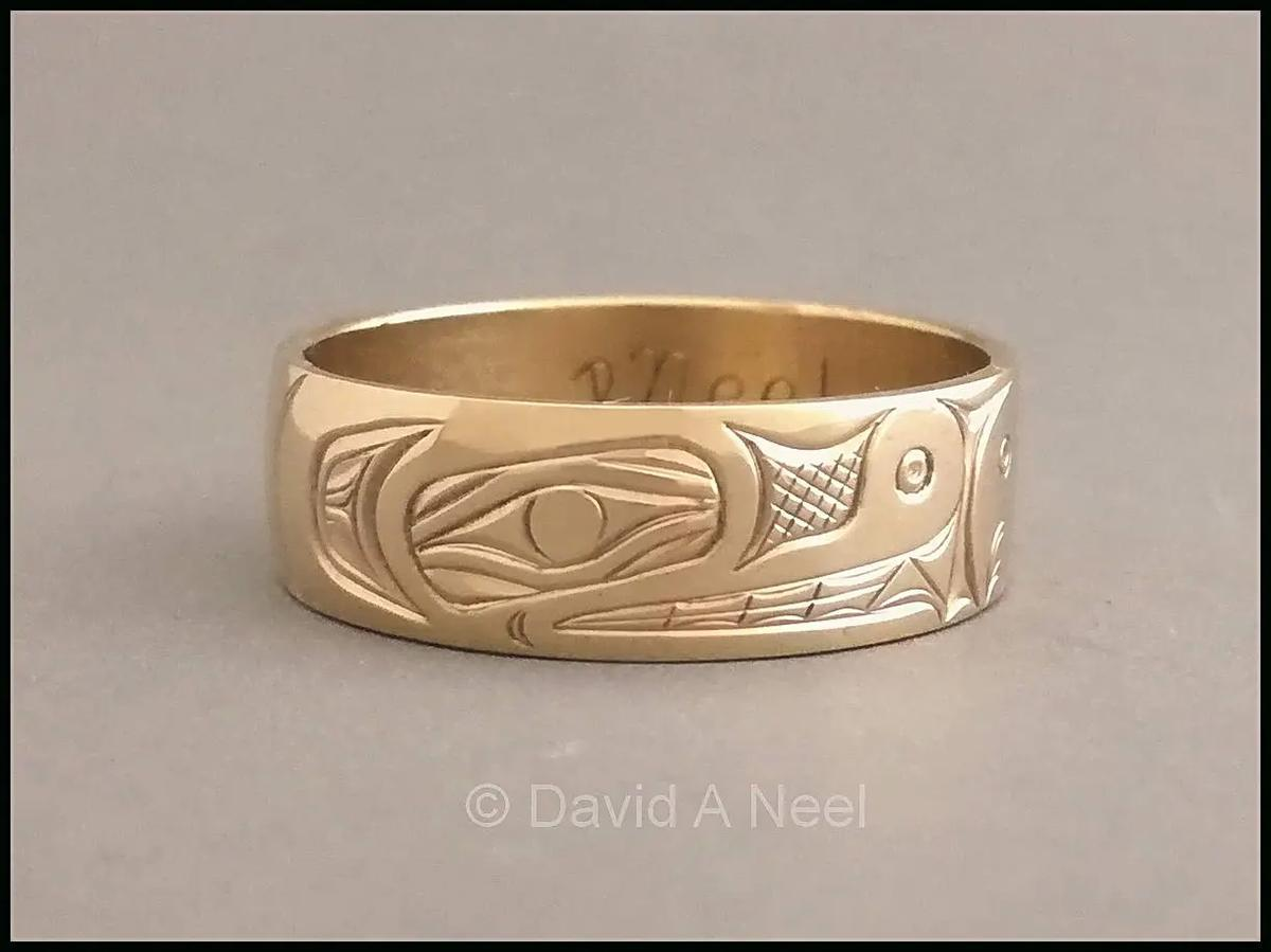 Bear Gold Ring