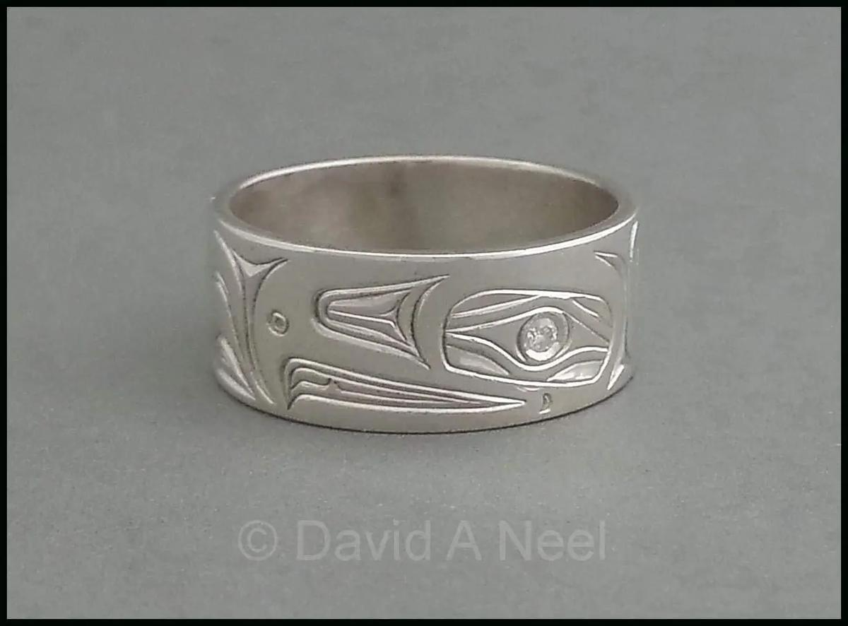 Eagle Ring, Silver