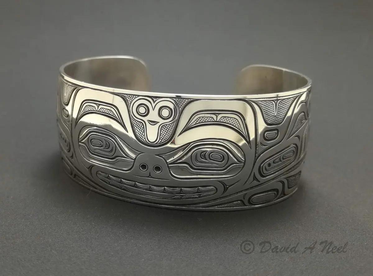 Sea Bear Silver Bracelet