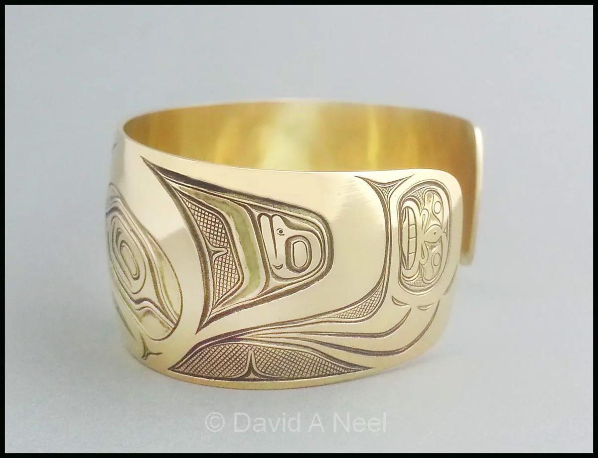 Bear Gold Bracelet