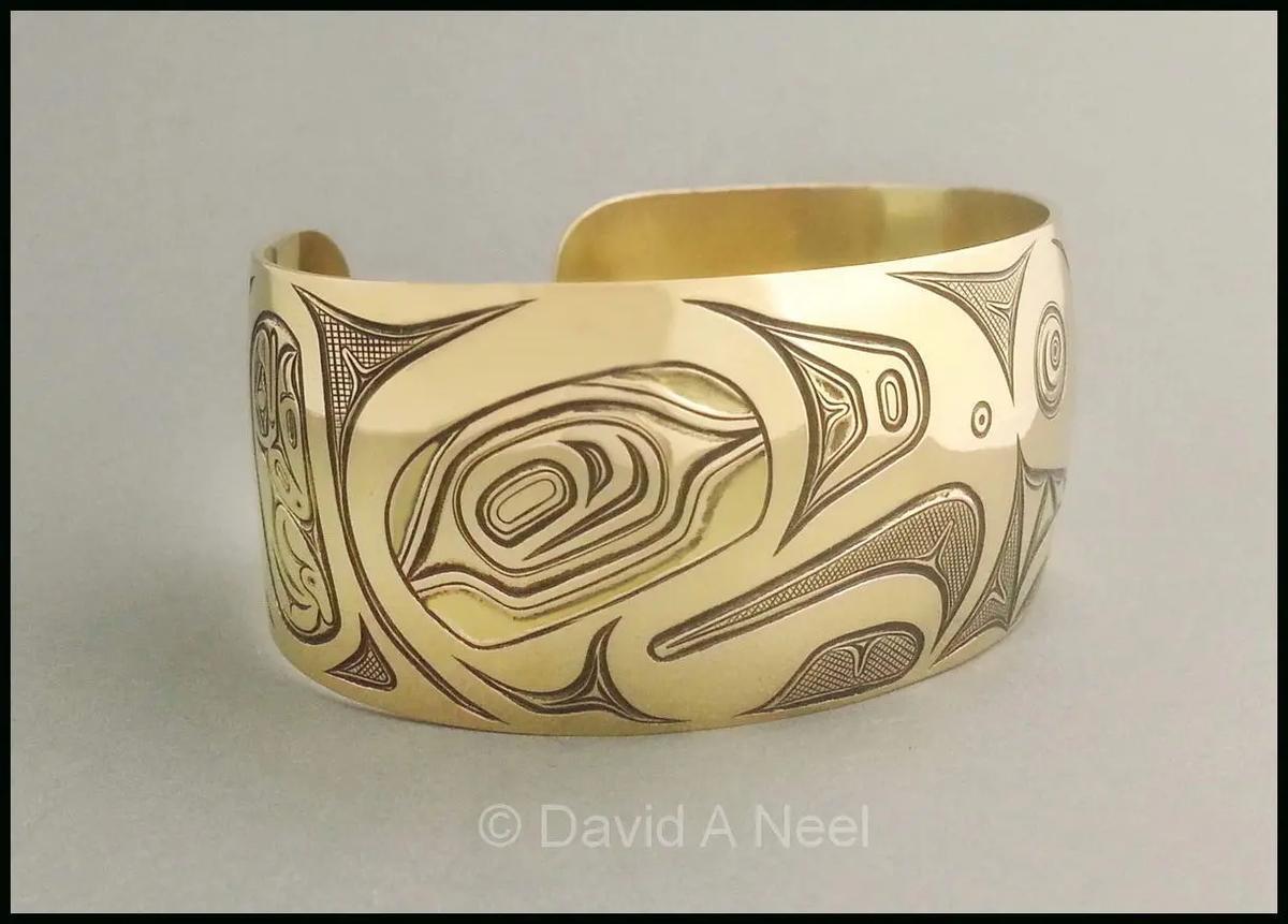 Eagle Gold Bracelet