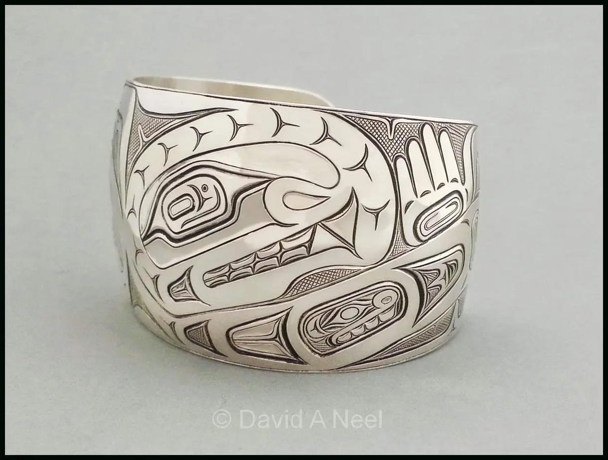Orca Silver Bracelet