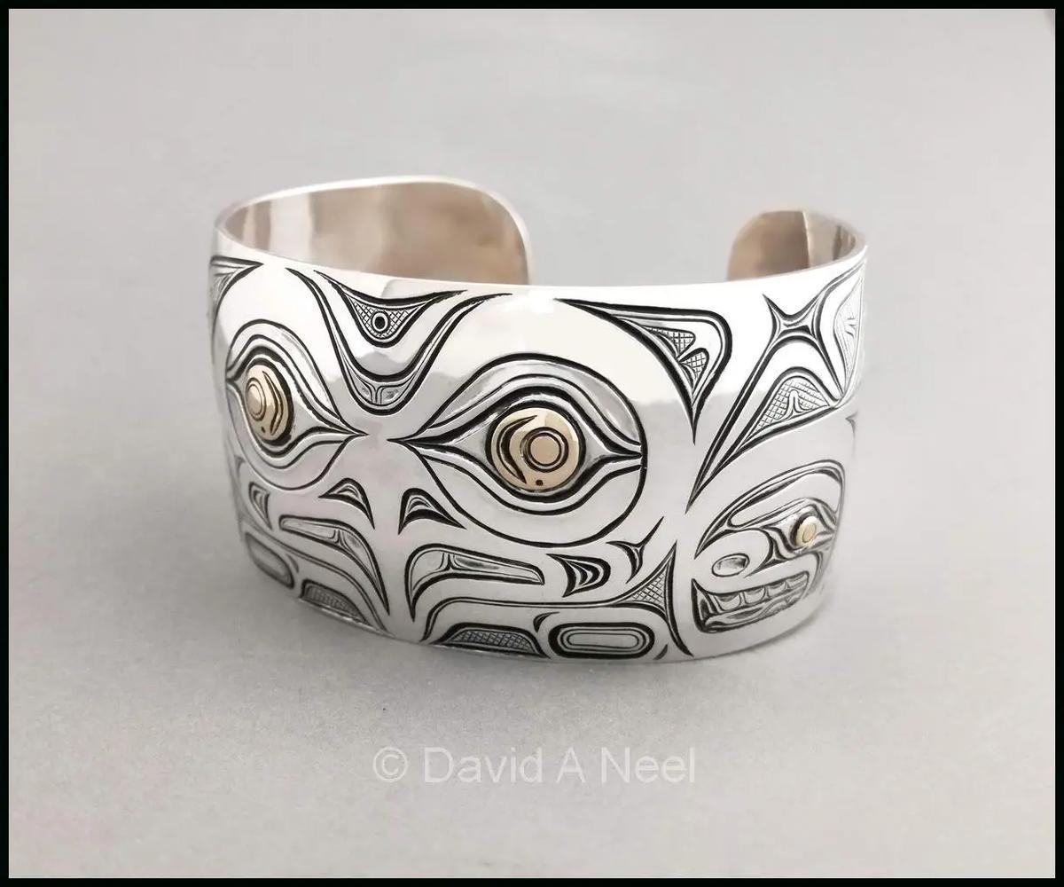 Owl Silver Bracelet