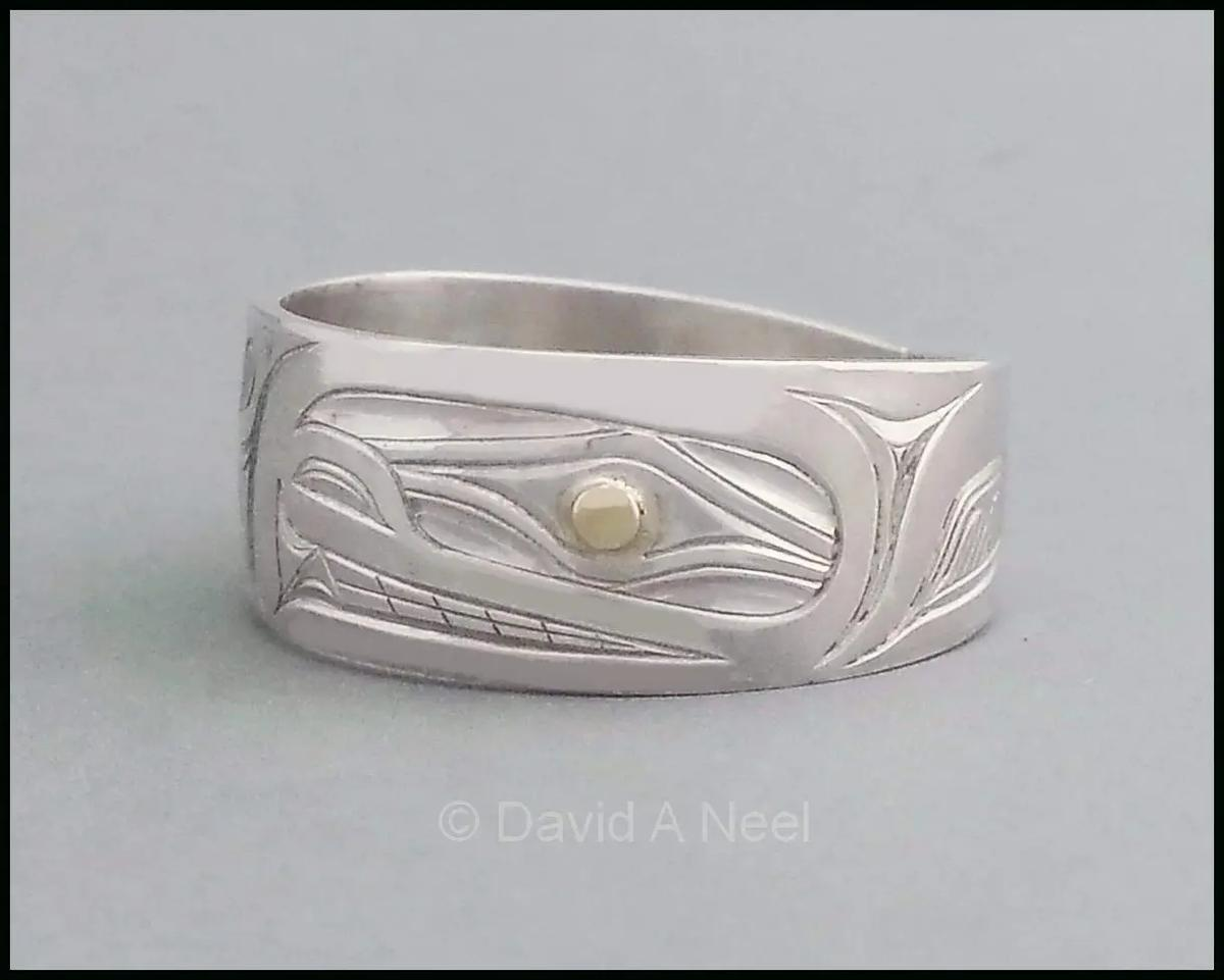 Orca Silver Ring