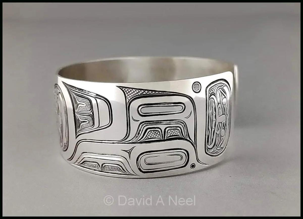 Eagle Silver Bracelet