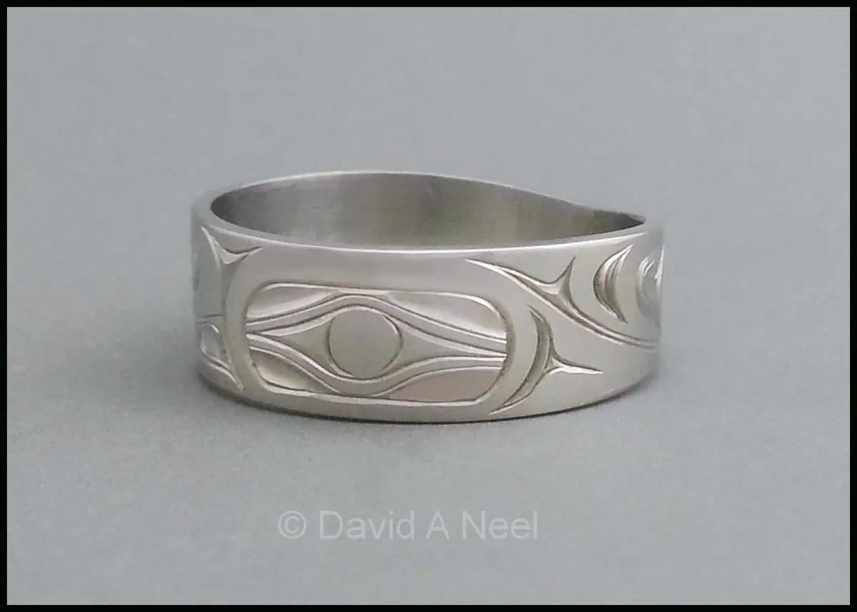 Hummingbird Platinum Ring