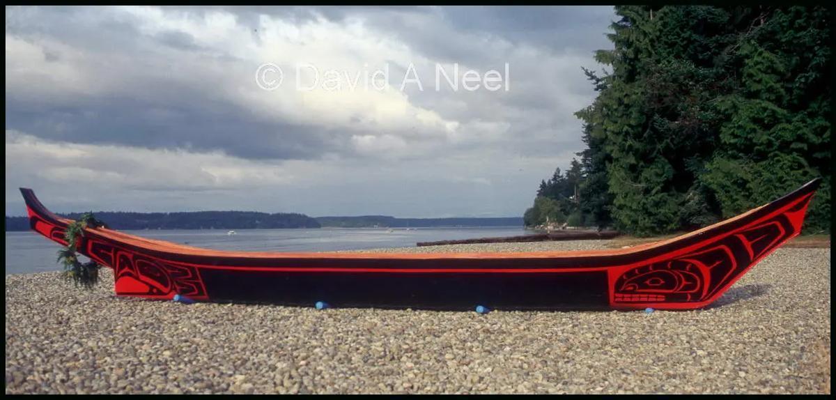 Kwakiutl Canoe