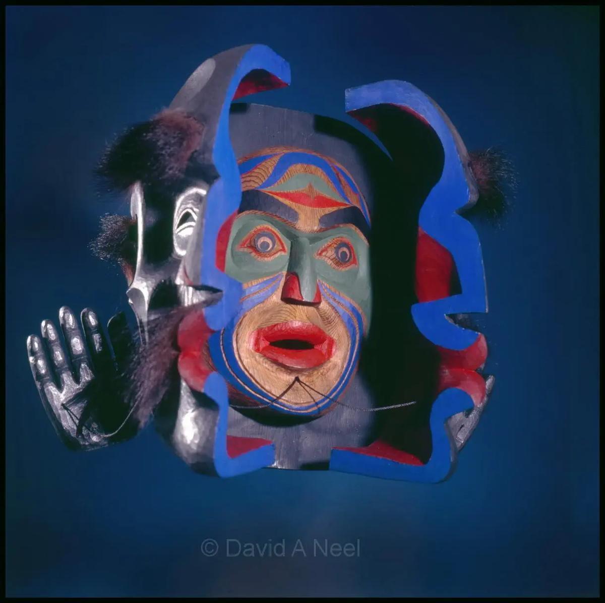 Wild Woman Transformation Mask