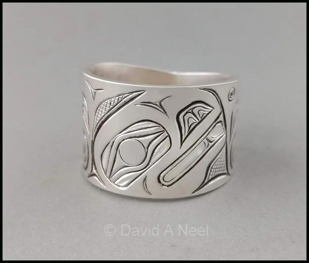 Raven Silver Ring