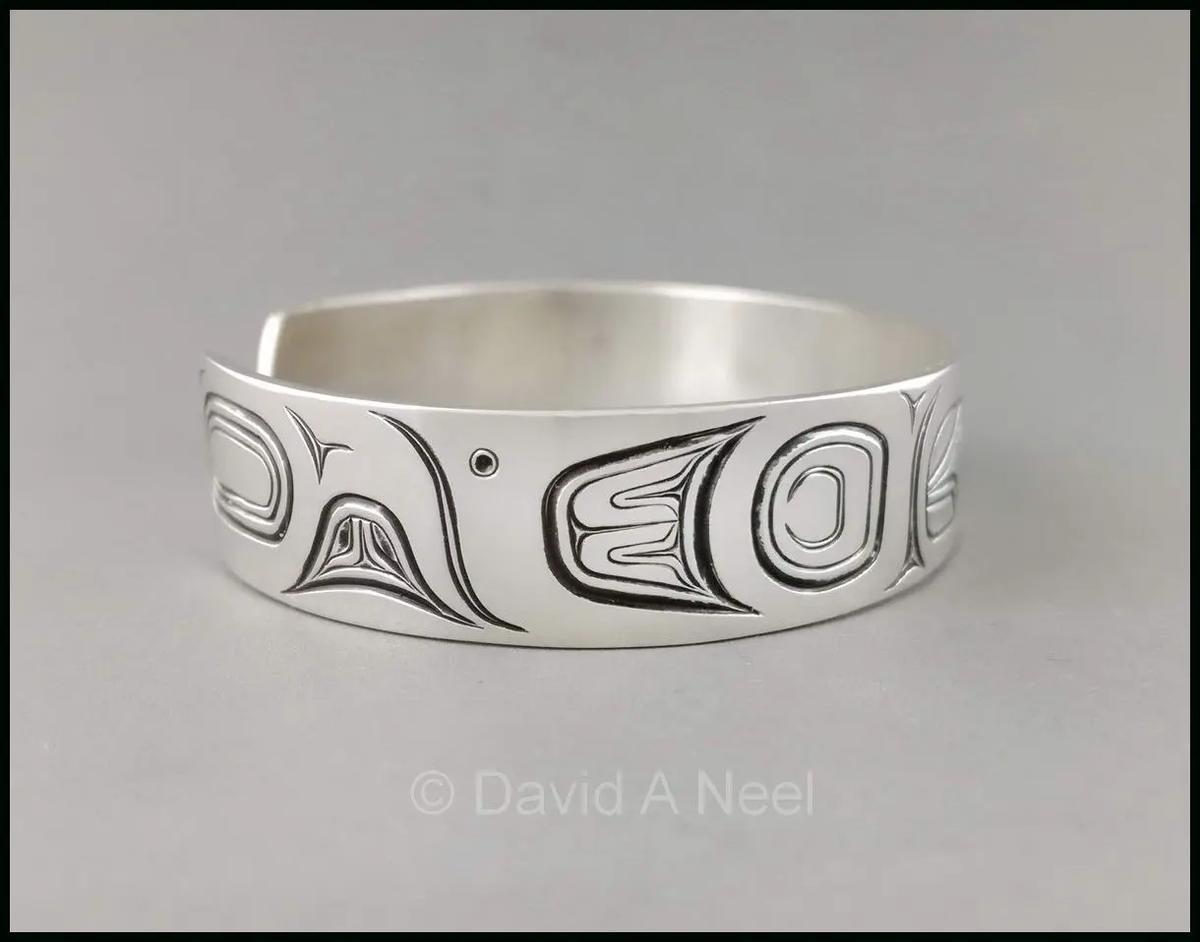 Hummingbird Silver Bracelet