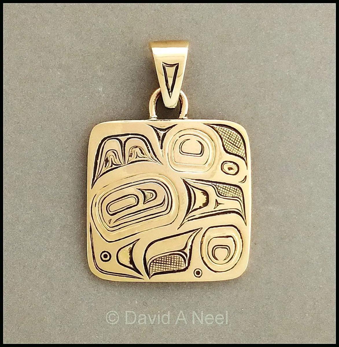 Eagle Gold Pendant