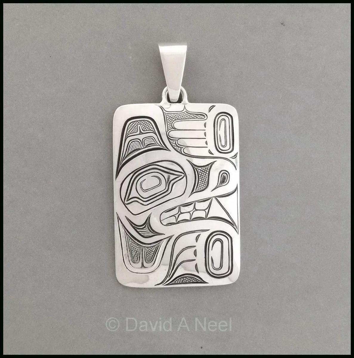 Wolf Silver Pendant