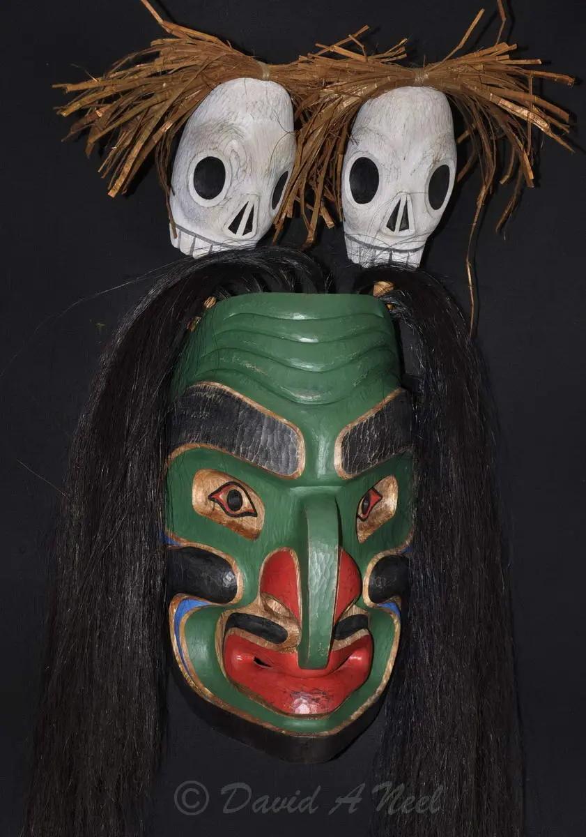 Bukwis (Wildman of the Woods) Mask