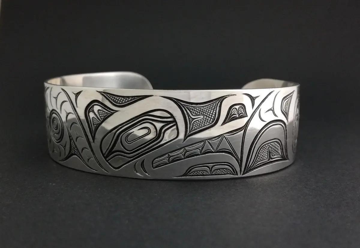 Wolf Bracelet, Silver