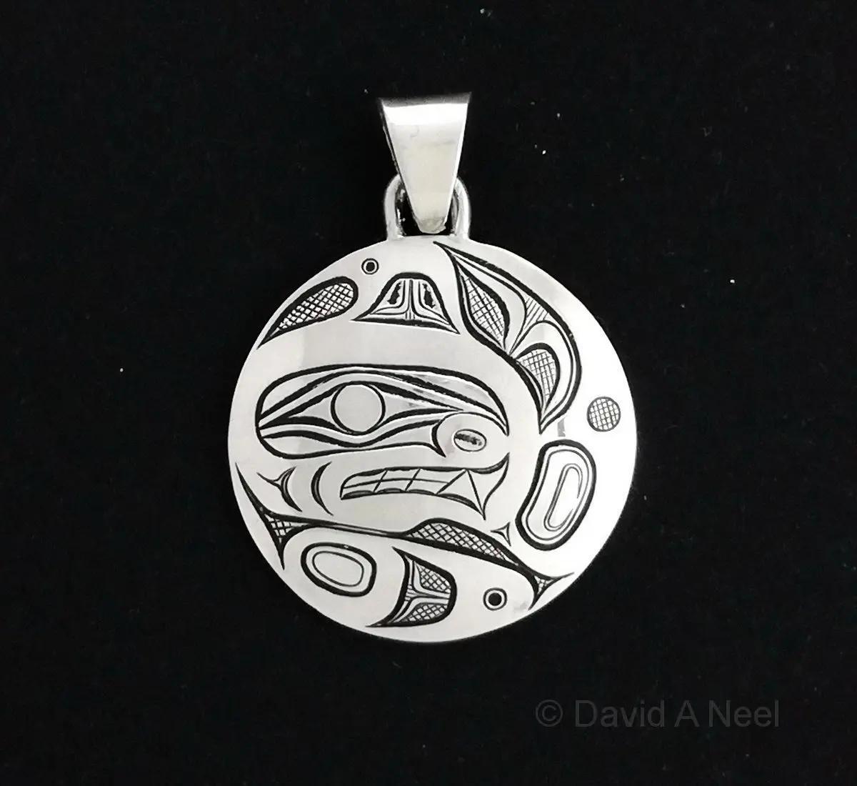 Orca Silver Pendant