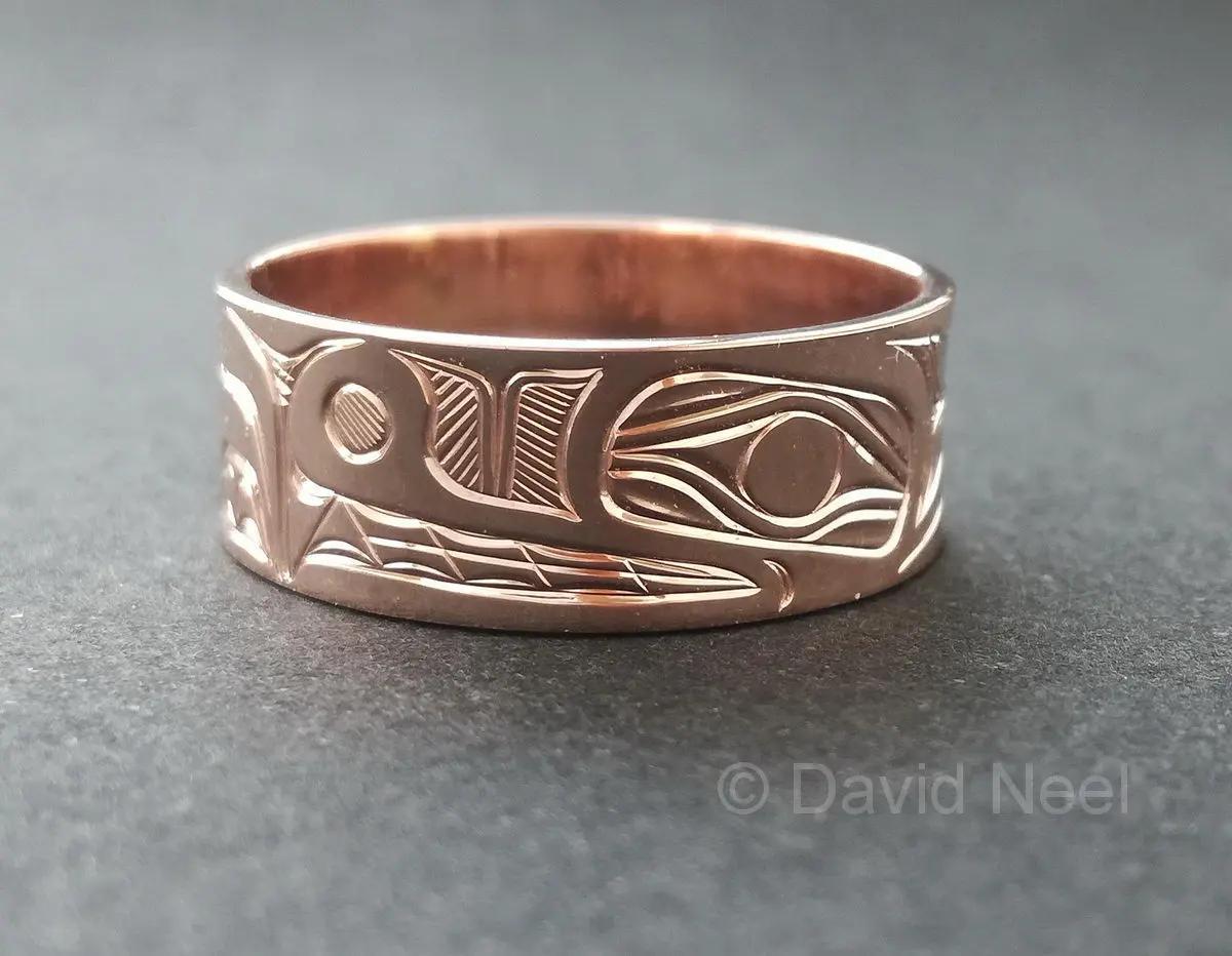 Bear Rose Gold Ring
