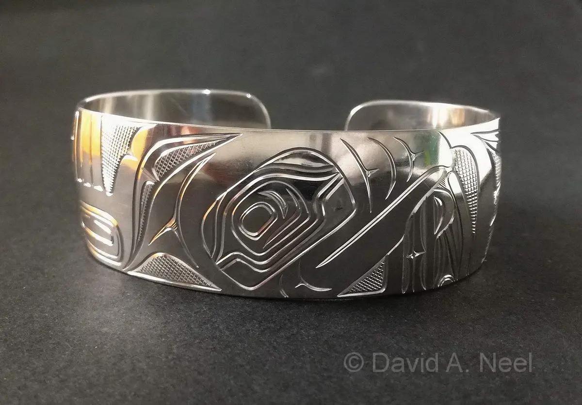 Puffin Silver Bracelet