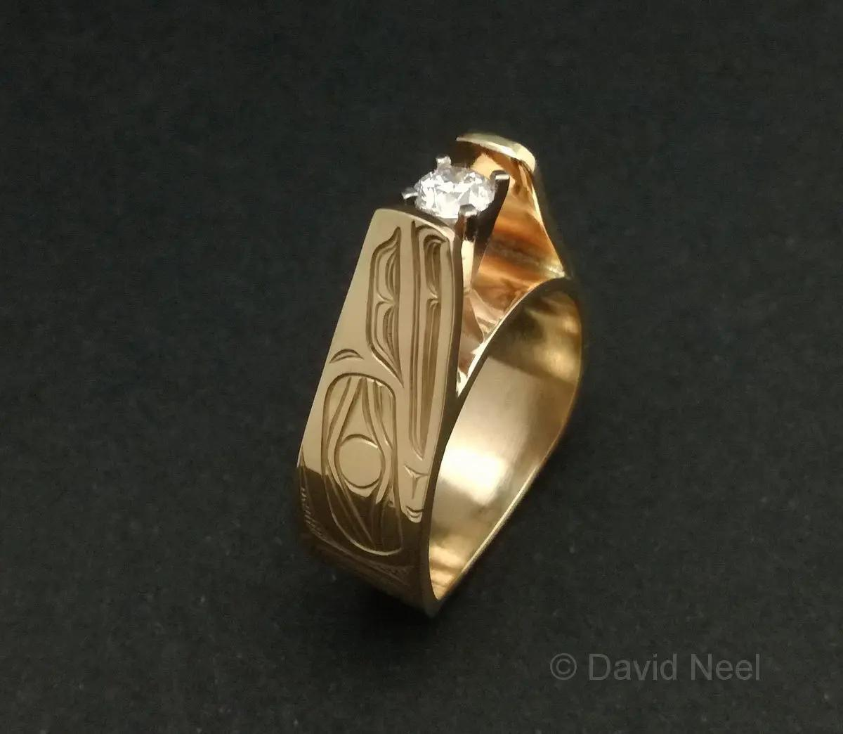 Raven Diamond Ring