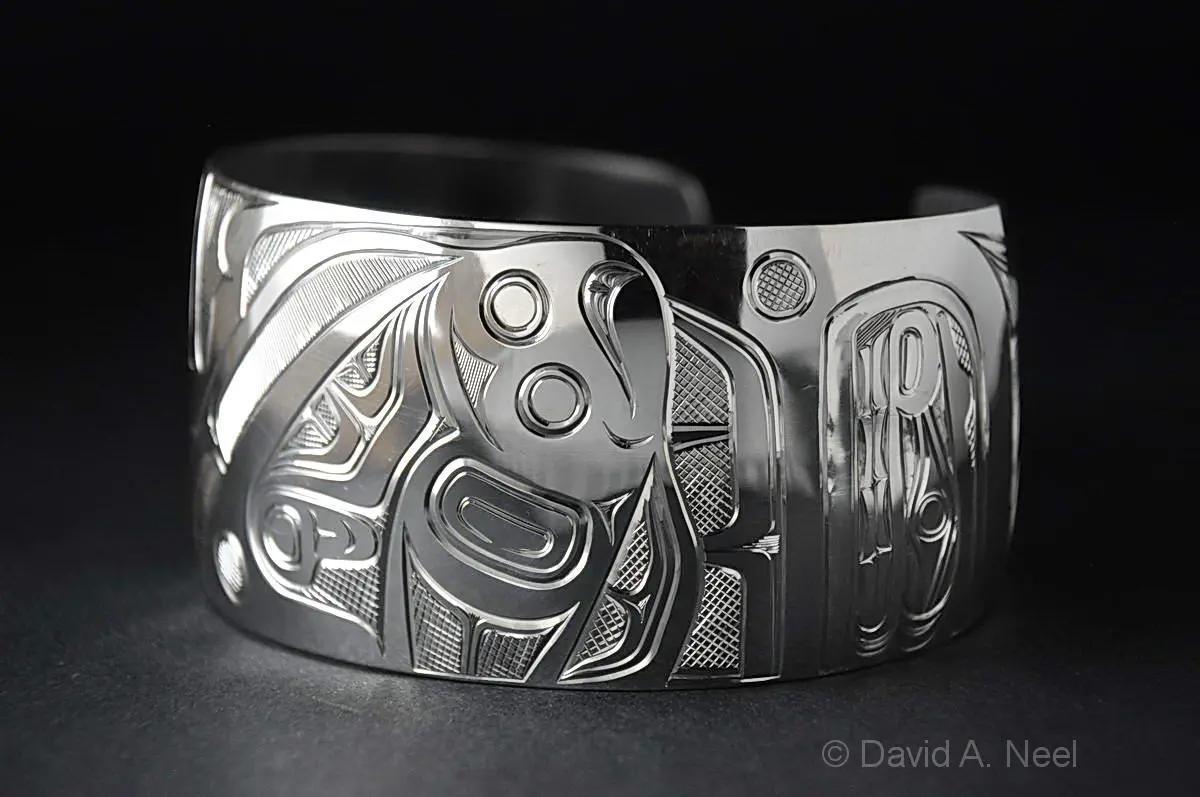 Halibut Silver Bracelet