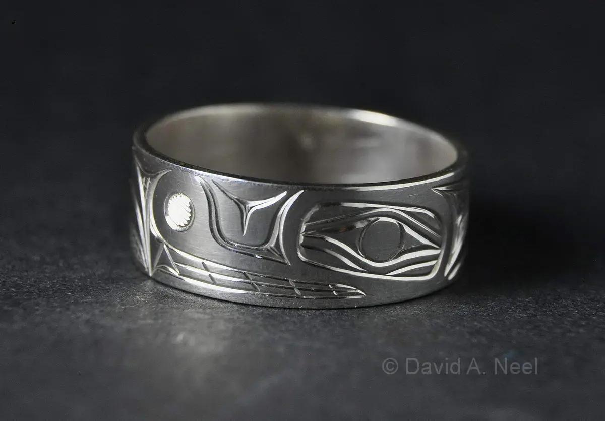 Bear Ring, Silver