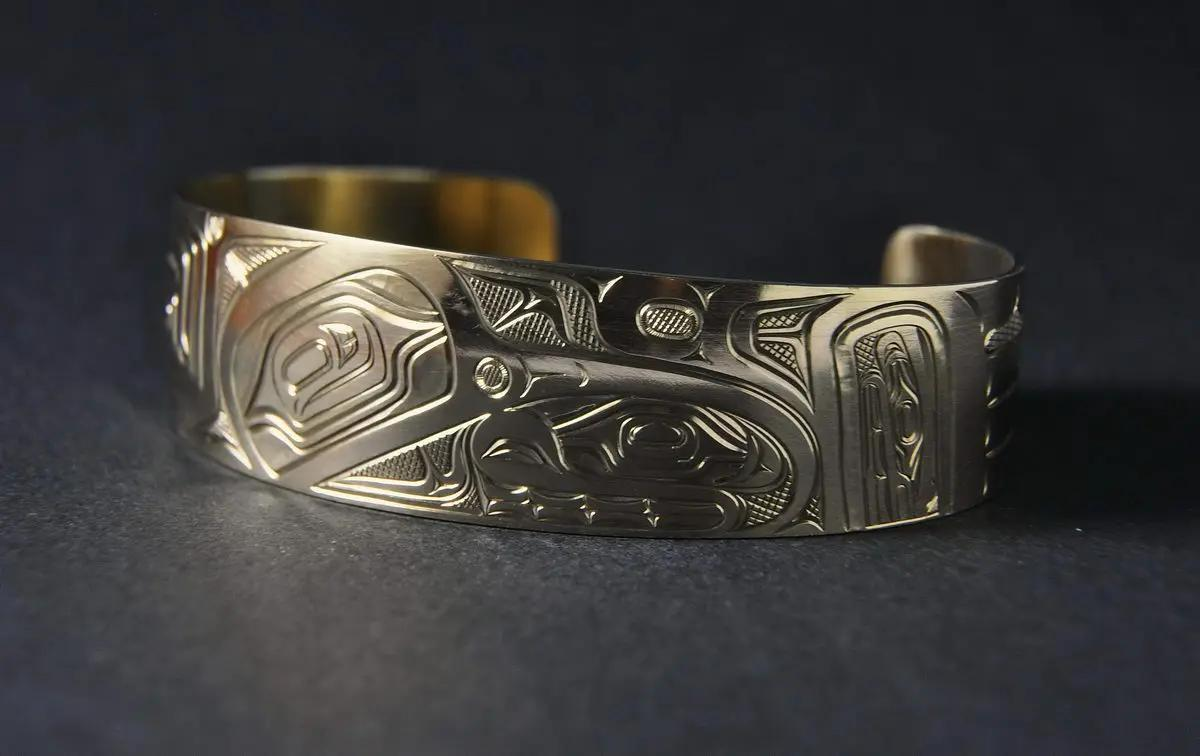 Hummingbird 14K Gold Bracelet