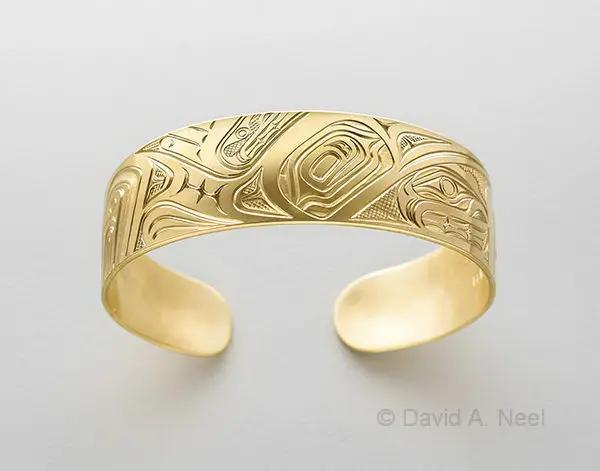 Loon Gold Bracelet