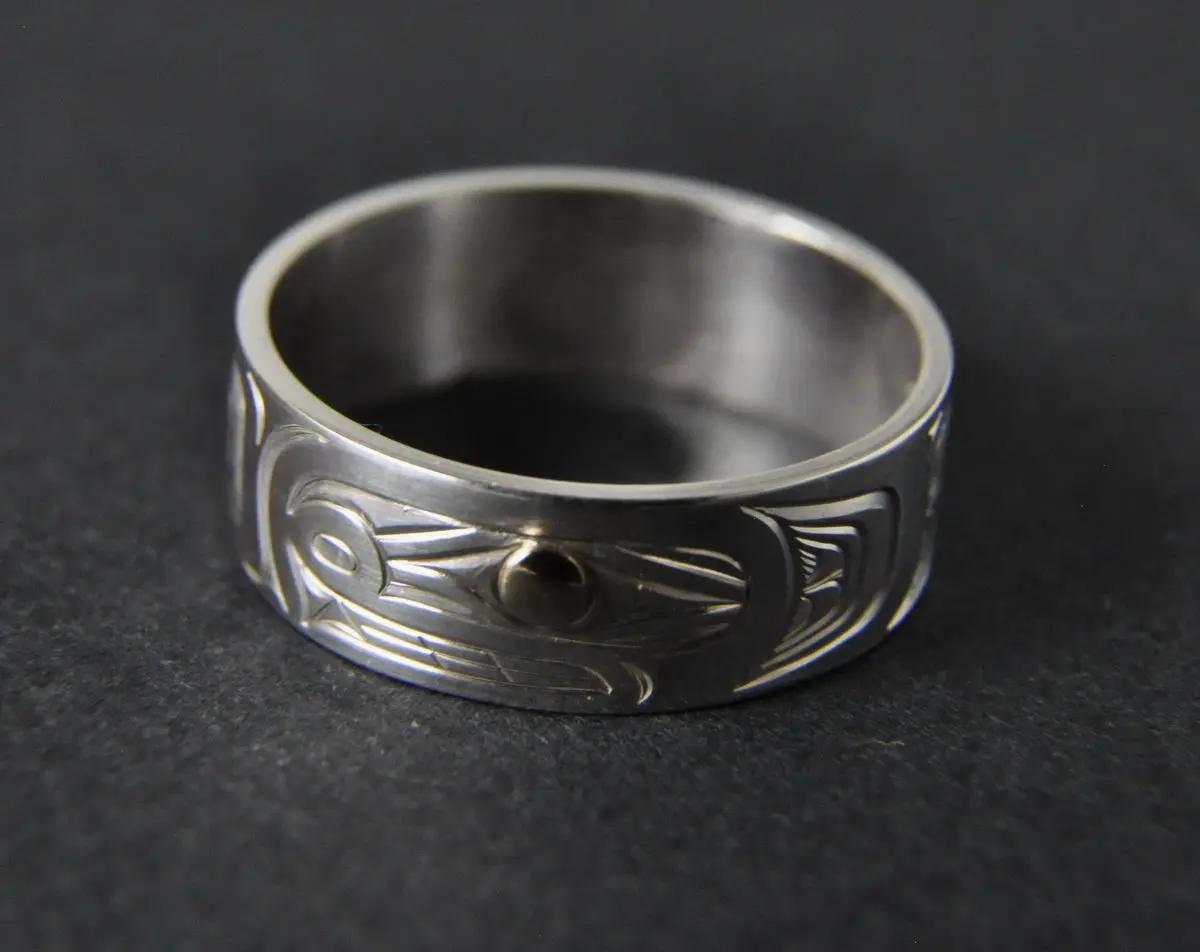 Killerwhale Silver Ring