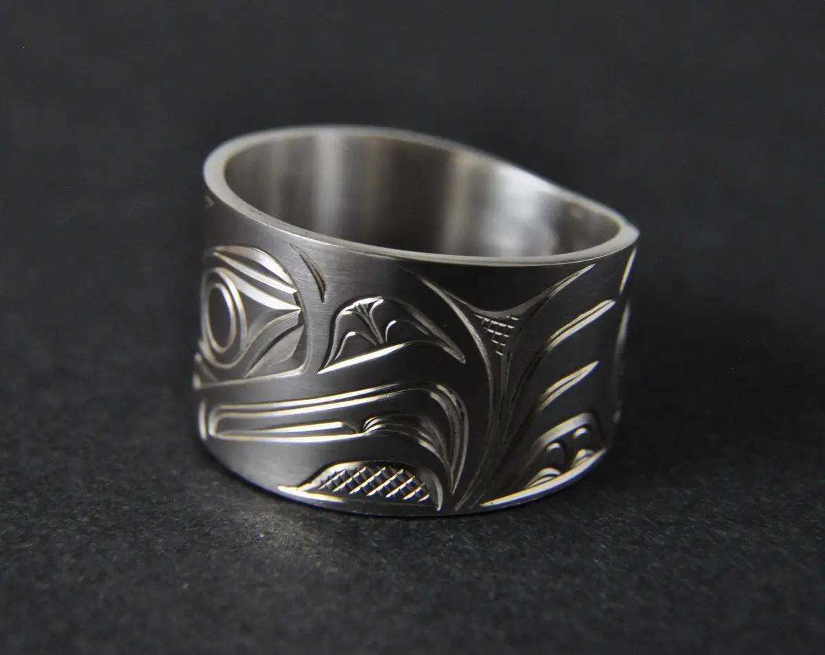 Thunderbird Silver Ring