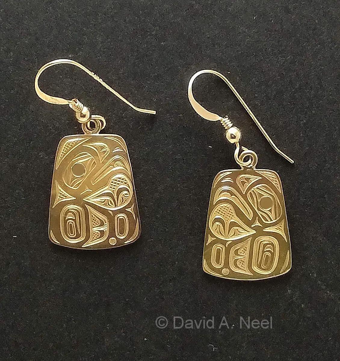 Eagle Gold Earrings