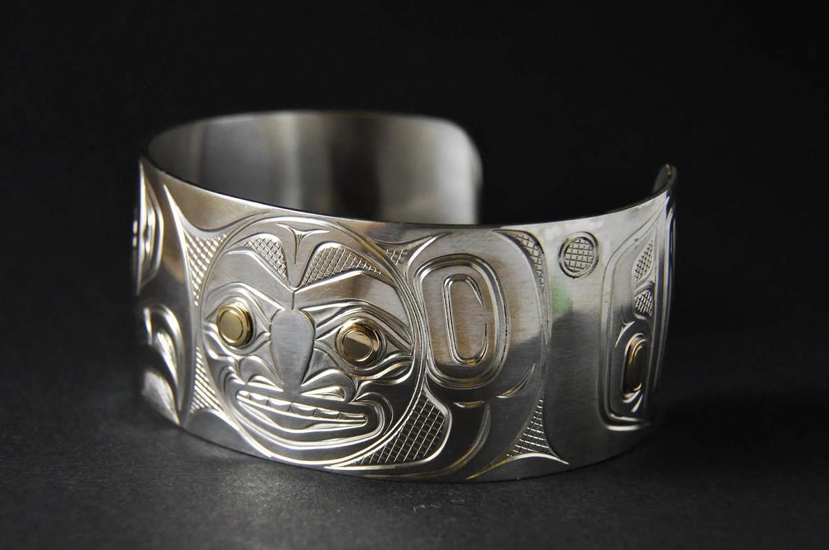 Eagle & Moon Bracelet