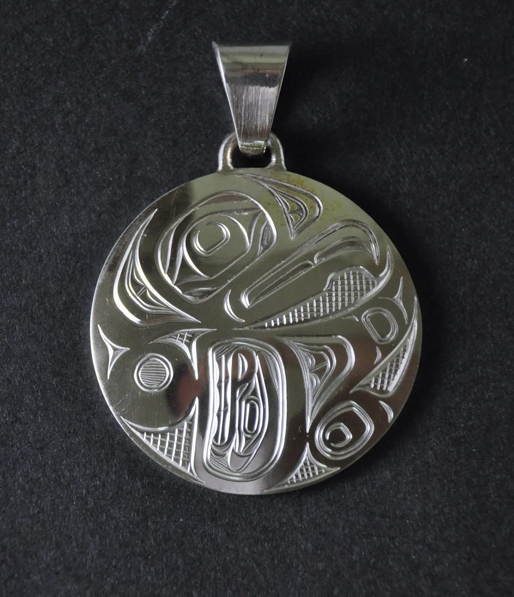Thunderbird Silver Pendant