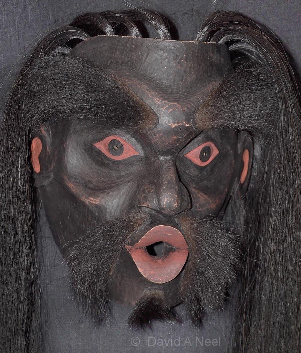 Dzukowa / Wild Woman of the Woods Mask